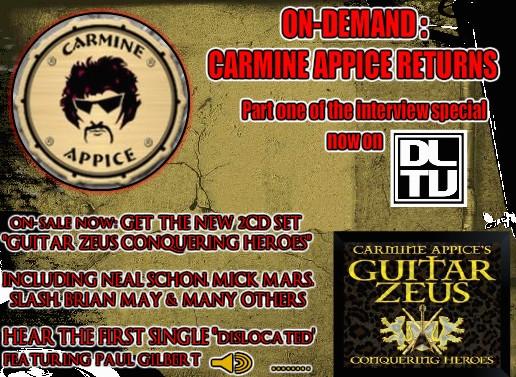 Carmine Appice Banner Ad