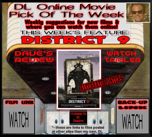 DL ONLINE MOVIE PICK - DISTRICT 9