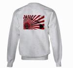 Fleece sweatshirt rear