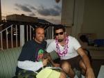 Dave with Chino Moreno of the Deftones Feb 2011 - Copy