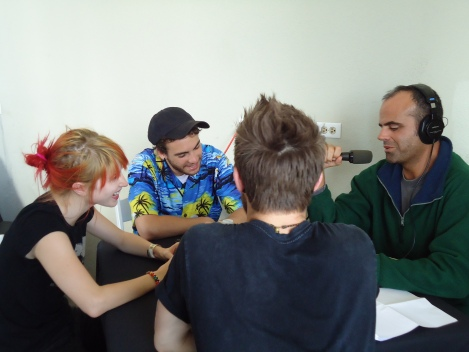 Paramore speak with Dave Lawrence