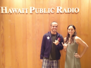 Dave with The Walking Deads Sarah Wayne Callies December 2012