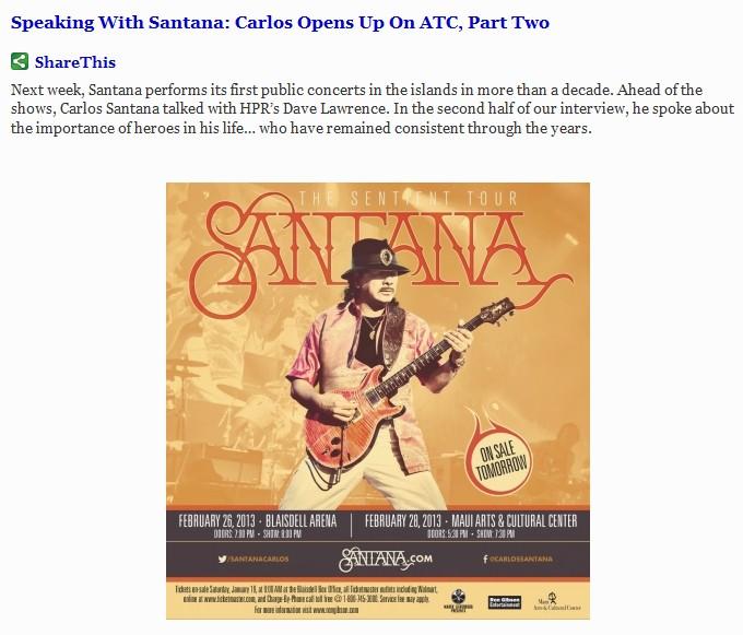Santana part 2